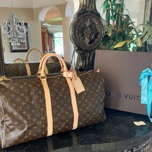 Louis Vuitton Keepall 55 Never Used